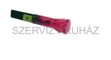 Kontroll lámpa piros 10 mm 230V