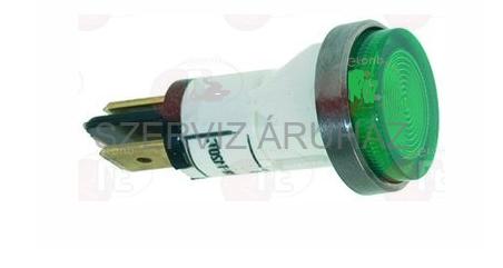 Kontroll lámpa zöld 400V